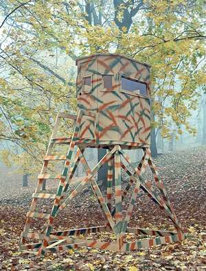 The Hideaway Hunting Blind from the Wylde Series from Pine Creek Structures